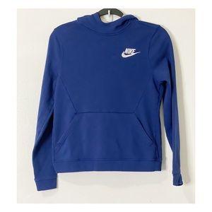Nike boys hoodie sweater size large.